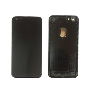 Metal Replace Battery Door Housing Back Cover Case For Iphone 6 plus Free DHL service.deliver the goods within 24 hours