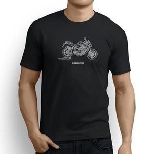 MV Agusta Brutale 1090 2016 오토바이 아트 남자 티셔츠 영감을 얻은