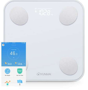YUNMAI Mini 2 Balance Smart Body Fat Scale Интеллектуальный анализ данных APP Control Digital Weighing Tool Весы для ванной комнаты