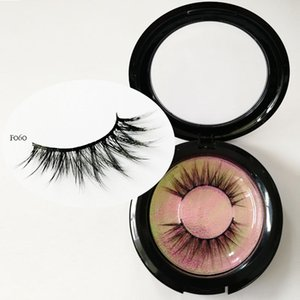 Logotipo privado 3D Lashes 3D vison Cílios curto a longo cabelo Cílios De Seda Grosso longo e grosso Cílios falsos eyeLashes cílios vison faux