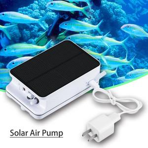 0.3L / min 휴대용 태양열 구동 공기 펌프 야외 낚시 분수 가든 워터 펌프 수족관 수조 산소 공급기 수족관 드롭 배송