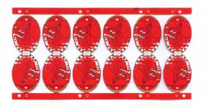 Cuatro capas del lado del doble de la muestra 10 piezas de PCB Hecho servicio de ejecución de la entrega rápida de DHL