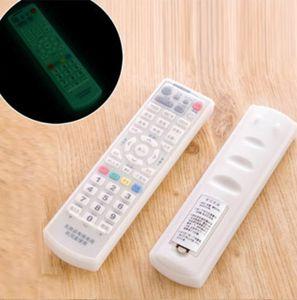 소프트 수납 가방 Stretchable Luminous Silicone Cover 에어컨 TV 리모콘 보호용 슬리브 어둠 속에서 빛나는 1 45zx B