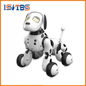 DIMEI 9007A 2.4G Kablosuz Uzaktan Kumanda Akıllı Robot Köpek Çocuk Oyuncak Akıllı Konuşan Robot Köpek Oyuncak Elektronik Pet Doğum Hediye