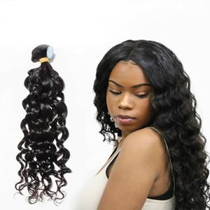 Meilleur 10A brésilien du Pérou Indien Malais Vierge humaine Cheveux Weave naturel Vague humide et onduleux Remy Hair 2 non transformé ans de vie