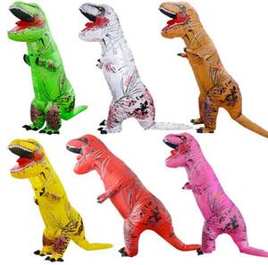 Şişme dinozor kostümleri Cadılar Bayramı kostümleri şişme dinozor sahne kostümleri maskot