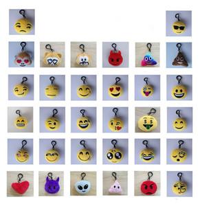 QQ emoji pelúcia pingentes crianças emoji brinquedos chaveiro Emoção de banda desenhada de expressão brinquedos boneca Stuffed Plush