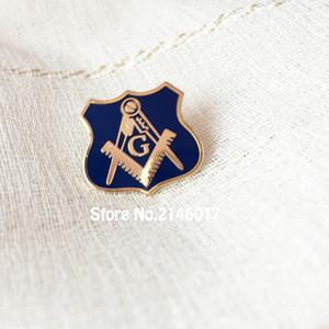 Regno Unito Bandiera Massonica Massone Pin Spilla Personalizzata Morbido Smalto Spilla Pins Massoni gratuiti Badge Metal Craft Lodge Regno Unito