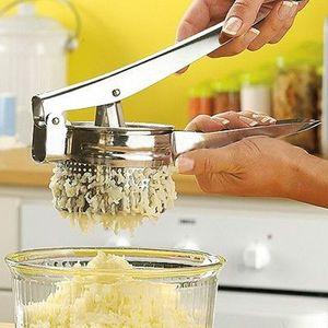 أدوات المطبخ الفولاذ المقاوم للصدأ هراسة البطاطس هريس ريسر الثوم بريسر الخضار الفاكهة الصحافة صانع أداة اكسسوارات المطبخ