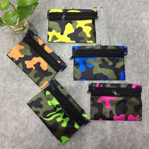 Bardian Retro Phone Pocket Ultrathin Uomini e donne Travel Camouflage Waistbag Double Double Zipper Design Waist Pack Safe Pratico 2 5xq Y