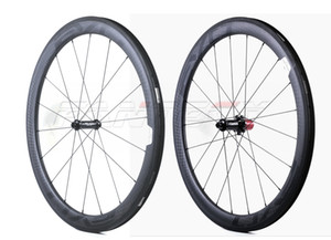EVO 700C 50mm depth 25mm width road bike carbon wheels Clincher tubular road bicycle carbon wheelset with UD matte finish