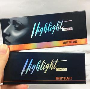 Beauty Glazed Highlighters 3 Colori Brighten Powder Blam Alta qualità Lunga durata Eye Shadow Primer Natural Highligh