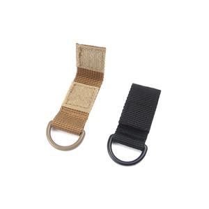 Mini robuste Rucksack Haken für Camping Outdoor Wandern Schnalle Multi-Funktion mit magischen Aufkleber Clip 7cm Länge Clip hohe Qualität 2hy ZZ