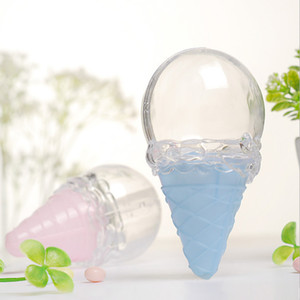 candy box bag chocolate gift clear plastic ice cream for Birthday Wedding Party Decoration craft DIY favor baby shower