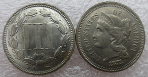 1871 Three Cent Nickel manufacturing Copy Promotion Cheap Factory Price nice home Accessories Silver Coins