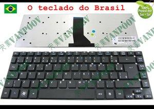 Novo teclado Do Portátil Para Acer Aspire 3830 3830G 3830G 3830TG 4830 4830 4830 4830TG sem quadro Preto BR Brasil versão