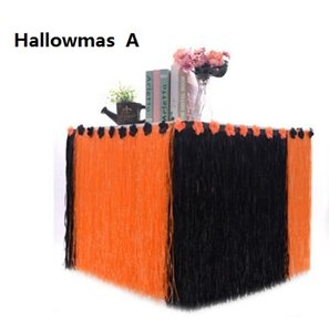 Table Skirt Table Decoration for Hallowmas party decorations Hawaiian table dress family picnic birthday party decoration Common model FP14