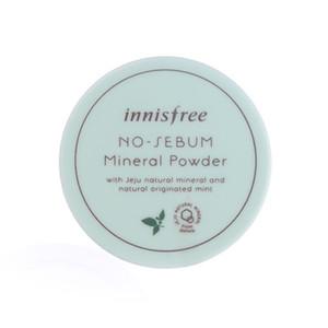 Innisfree нет кожного сала минеральный порошок 5 г контроль масла мягкий легкий шелковый консилер кожа пудра макияж