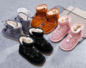 2018 winter new fashion hot boy snow boots boots children cotton boots