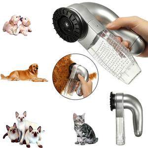 Elettrico cane gatto grooming trimmer peli di rimozione dei capelli aspirapolvere macchina pet capelli spargimento spazzola pettine Grooming Tool per cane gatto