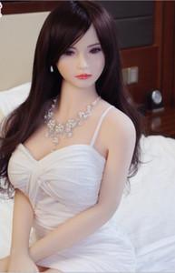 Juguete de mama Amor real de silicona muñecas del sexo japonesa adultos realista animado oral vagina muñecas completa Coño grande para el hombre de la muñeca
