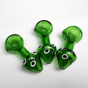 3,3 Zoll Gute Qualität Hand Rohr Dicken Rohre Schöne Pilz Glasrohre Berauschenden Löffel Glasrohr Glas Bubblers