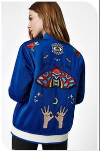 2018 yeni marka tasarımcısı kadın giyim ADID-S kadın Ceketler uzun kollu fermuar sweatershirts Sonbahar baskı Kabanlar palto için kadın DGZB