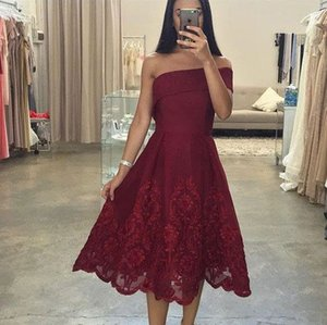 Hot Selling Simple Off the Shoulder Sleeveless Prom Dresses Evening Dresses for Women In Stock