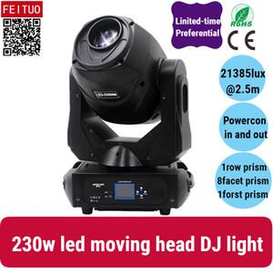 8 / лот 230W Led Moving Head Light Spot Light DMX Gobo для диско-клуб сцена свадебные украшения