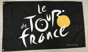 Ev Kral Tour de France Bayrak Afiş 3X5FT 100% Polyester, Metal Grommet ile Tuval Başkanı