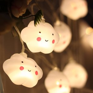 New cloud led light string battery decorative lights children's day party decoration 3.5 meters