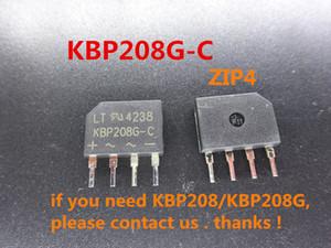 10pcs lot new Bridge Rectifier KBP208G-C ZIP4 in stock free shipping