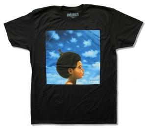 "Drake ""Nichts war das Gleiche"" Album Cover Schwarz T-Shirt Neue Offizielle Rap Rapper T Shirt Männer Lustige T-Shirts Kurzarm"