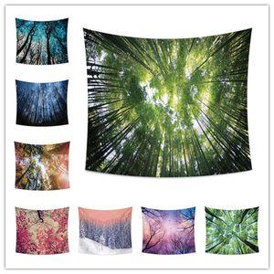 8 Design-Wandbehang Tapisserie Dschungel Serie Druck Badetuch Schaltischdecke Picknickmatte Bettlaken Hauptdekoration Partei Hintergrund
