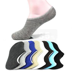 7 Paar Frauen Socken Kurze Socken Low Cut Knöchel rutschfeste Absorbieren Schweiß Unsichtbare Socke Hausschuhe Für Frauen / Männer