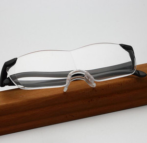 Big Vision 250% Occhiali da lettura Uomo Donna Senza cornice Ingrandimento 1,6 volte +250 gradi Ingrandisce Occhiali per donna uomo