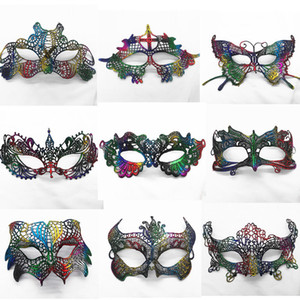 2018 Halloween femmes masques masques dames sexy dentelle lunettes masque pour Noël Cosplay Party Night Club / Ball Eye Masques