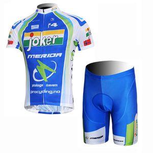 New MERIDA team 2019 Cycling long Sleeves jersey bib pants sets mens summer quick dry Clothing mountain bike 53163