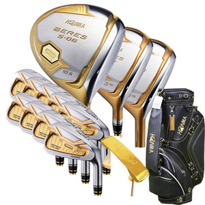 I nuovi mens golf club HONMA s-06 4 stelle golf completo set di mazze da autista + legno da fairway + putter + Bag shaft in grafite di golf Headcover Trasporto libero
