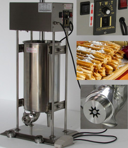 N14 commercial Churro Maker 15L automatique électrique Churros machine espagnole Churros machine à vendre en acier inoxydable LLFA