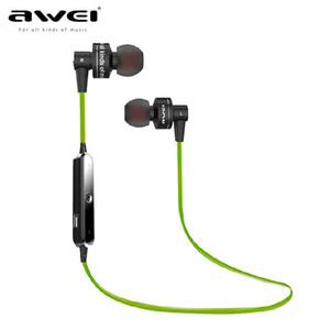 Awei A990BL Sport Auricular inalámbrico Bluetooth Auricular estéreo con micrófono Auricular Sweatproof para auriculares Bluetooth de teléfono ..