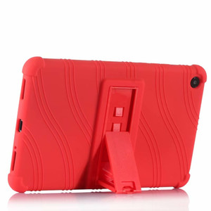 Soft TPU Back Cover Silicone Case with Stand for Xiaomi Mipad4 Plus Mi Pad 4 Plus Mipad 4 Plus Tablet + Stylus Pen