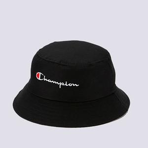 C Mektup Siyah Ve Beyaz Çift Şapka Bahar Yaz Yeni Güneşlik Şapka Erkekler Kadınlar Balıkçılar 'ın Kap Kolay Fold Caps Toptan
