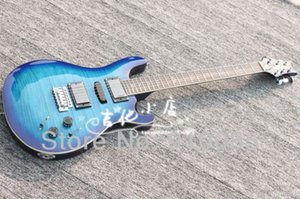 Best Price Music Instrument Limited Edition Custom 24 Ltd.Blueburst 513 Electric Guitar Free Shipping