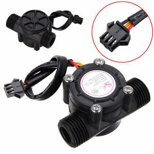 """1 unid 1-30L / min Sensor de flujo de agua Sensor de caudal Hall Sensor de flujo de agua Control de agua 1/2 """"2.0MPa"""