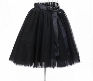Europe And The United States Mini Skirt Fluffy Skirt Tutu Top Selling 7-Layer Adult Tulle Skirt Women Free Shipping 2018