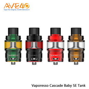 Vaporesso Cascade Baby SE 수독 탱크 6.5ml, 모든 GT 메쉬 코어가있는 혁신적인 삼각 기류 E-cig Tank