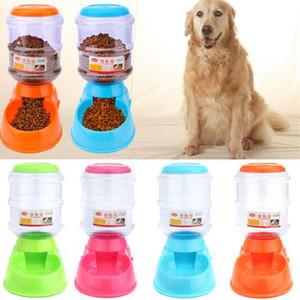 Automatic Dog Fearher Safety Plastic Plastic Pet Food Buvez Distributeur de chiot Animaux Fontaine d'eau pour chiens Chats Nourrir les bols