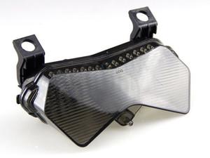 Luz de señal de luz de cola de humo de motocicleta LED para Kawasaki ZX6R / 636 / 6RR 2003-2004 Z750 / Z1000 2004-2006