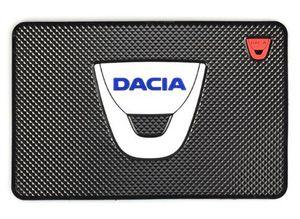 En gros Auto Car-Styling Tapis Autocollant De Voiture Emblèmes Badge Case Pour Dacia Duster Logan Sandero Lodgy Pads Intérieur Accessoires Car Styling